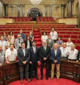 El Consell d'Alcaldes de l'Alt Urgell s'ha reunit al Parlament de Catalunya