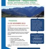 Jornada a la Seu d'Urgell per avançar cap a un Pirineu sostenible i responsable