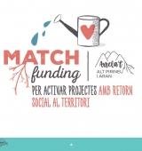Tret de sortida a la campanya de micro-mecenatge del 'Matchfunding' Arrela't Alt Pirineu i Aran