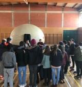 La Cúpula Gustum desplega la seva activitat educativa sobre alimentació a Oliana i Puigcerdà