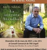 """Rafel Nadal presenta """"La senyora Stendhal"""" a la Seu d'Urgell"""