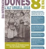 L'Alt Urgell commemorarà el Dia Internacional de les Dones amb diversos actes culturals i reivindicatius