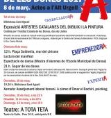 L'Alt Urgell commemora el Dia Internacional de les Dones amb diversos actes