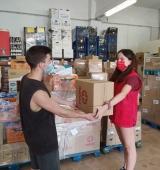 L'ONG Latter-day Saint Charities fa una donació de productes infantils a Aliments per la Solidaritat de l'Alt Urgell