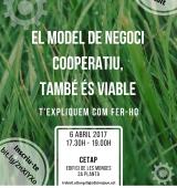 El CETAP acull un taller que posa l'accent en la viabilitat de l'economia social i cooperativa