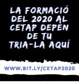 Procés participatiu per triar les càpsules formatives del CETAP per al 2020