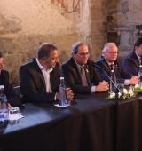 El president de la Generalitat assisteix al Consell d'Alcaldes de l'Alt Urgell, que s'ha celebrat a Estamariu