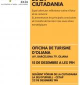 El projecte IMPULSA 2026 obre aquest divendres a Oliana els Fòrums de la Ciutadania