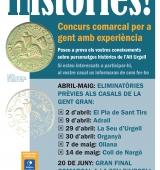 """L'Alt Urgell posa en marxa el concurs """"Històries!"""" adreçat a la gent gran"""