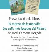 Jordi Cardona presenta a la Seu d'Urgell els seus dos últims llibres