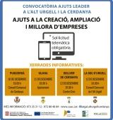 Ja està oberta la nova convocatòria dels ajuts Leader a l'Alt Urgell i la Cerdanya
