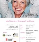 Taller gratuït de mindfulness i benestar adreçat a dones a partir de 65 anys