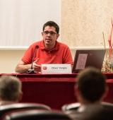 """Oliver Vergés presenta la seva tesi doctoral sobre el comtat d'Urgell en la cloenda del cicle """"Desenterrant el passat"""""""