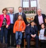 El veí d'Estamariu Antoni Navinés celebra els 100 anys