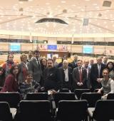 El Consell d'Alcaldes de l'Alt Urgell visita el Parlament Europeu