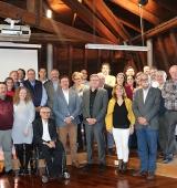 El president de la Diputació de Lleida assisteix a la reunió del Consell d'Alcaldes de l'Alt Urgell