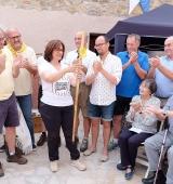 El president de la Generalitat, Quim Torra, assisteix al Festival Càtar a Josa de Cadí