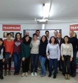 """L'Oficina Jove de l'Alt Urgell acull una reunió del projecte europeu """"Trampoline"""""""