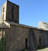 L'església de Sant Andreu del Castell d'Oliana, declarada bé cultural d'interès local