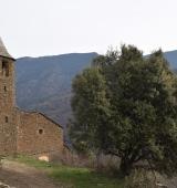 La restauració de l'església de Solanell garanteix la conservació d'un conjunt inèdit de pintura romànica