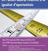 Conferència sobre novetats i qüestions d'actualitat en l'àmbit laboral relatives la igualtat d'oportunitats