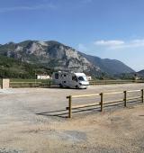 Les àrees d'autocaravanes del Camina Pirineus ja estan a punt