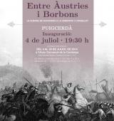 """Inauguració de l'exposició itinerant """"Entre Àustries i Borbons, la Guerra de Successió a la Cerdanya i l'Urgellet"""""""