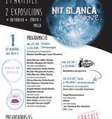 Nit Blanca Jove a la Seu d'Urgell amb 8 grups musicals, 29 artistes i 2 exposicions