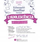 Cicle de tallers Moneo al Pla de Sant Tirs per tractar l'acompanyament en l'adolescència