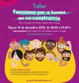S'organitza a la Seu d'Urgell un taller de feminisme per a homes en re-construcció