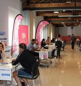 El workshop de la Seu d'Urgell fa el ple amb les entrevistes entre empreses i persones demandants de feina