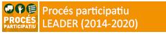Procés participatiu - LEADER (2014-2020)