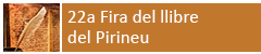 Fira del llibre del Pirineu 2018