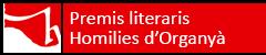 Premis literaris Homilies d'Organyà 2018