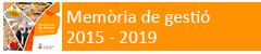 Memòria de gestió 2015-2019