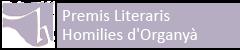 Premis Literaris Homilies Organyà 2015